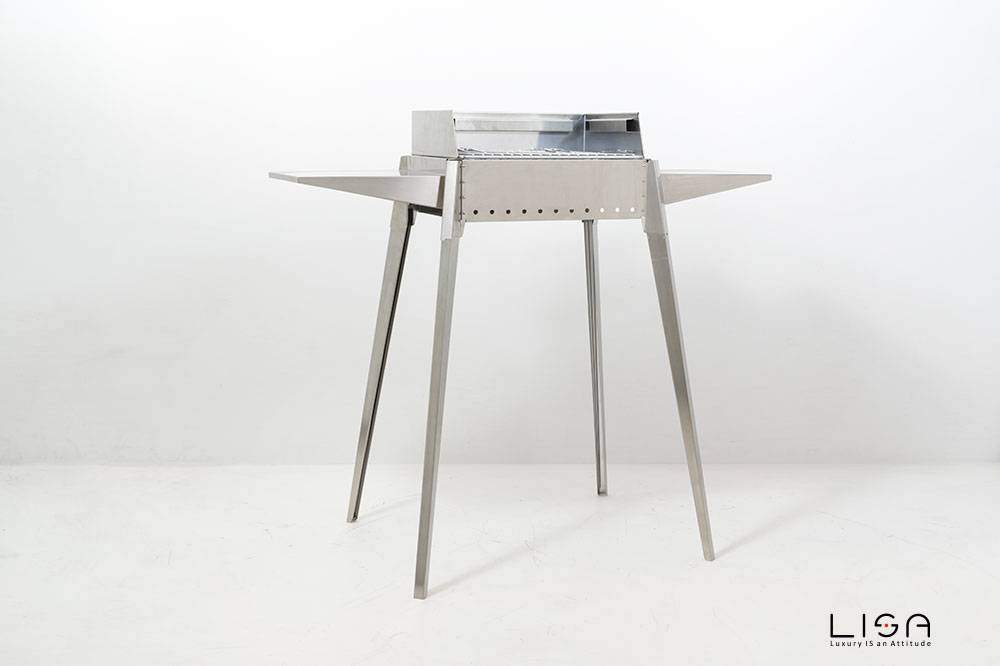 Barbecue Etna mini in acciaio inox di Lisa srl