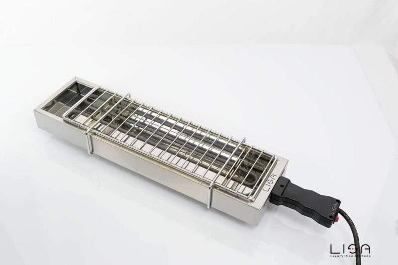 Barbecue elettrico ebbq di Lisa srl