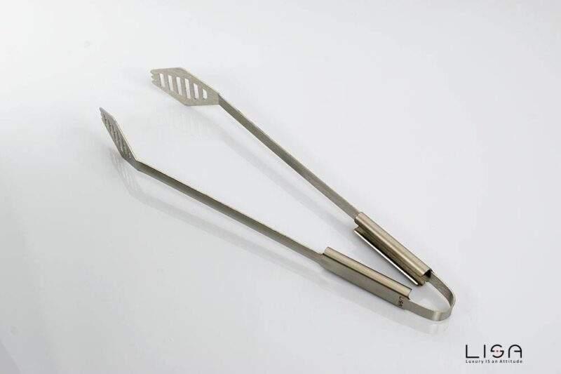 Pinza da barbecue in acciaio inox di Lisa srl